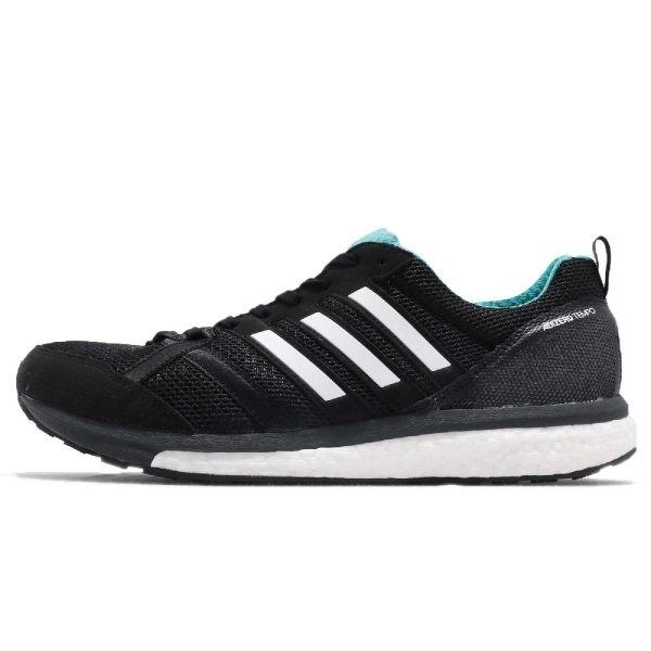 Adidas Adizero Tempo 9 男款中底舒適緩震運動鞋 NO.BB6649