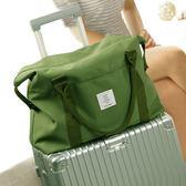 短途旅行袋手提大容量單肩包男女防水無拉桿行李箱掛包登機健身包igo     韩小姐