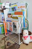 報刊架鐵秀才兒童書架兒童繪本架簡易書報架學生幼兒園圖書柜展示架 全館免運 igo