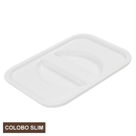 COLOBO SLIM收納盒盒蓋 WH 白 NITORI宜得利家居