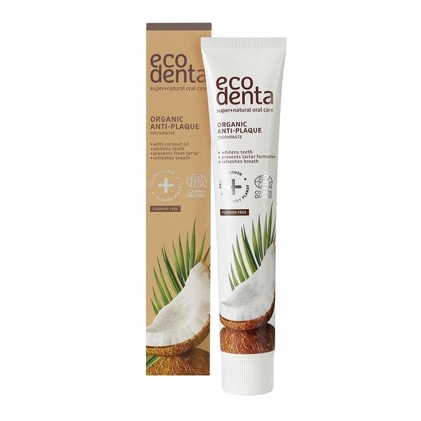 Ecodenta - 認證級 椰油精華無氟牙膏 75ml
