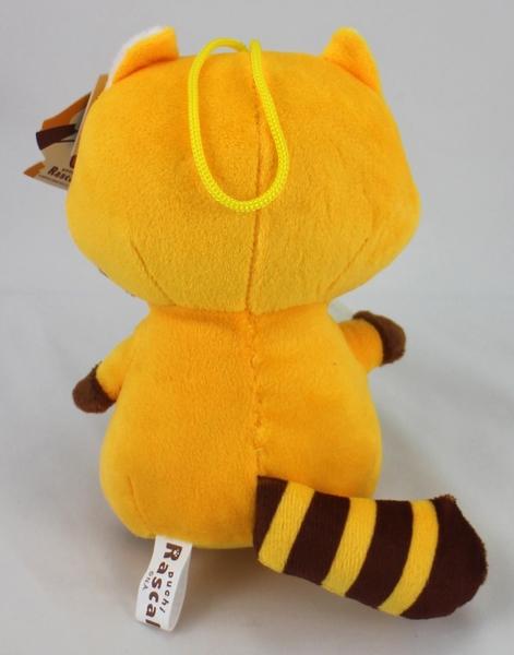 【卡漫城】 小浣熊 玩偶 18cm 三款選一 ㊣版 絨毛 娃娃 布偶 吊飾 Rascal 拉斯卡爾 卡通 布置 掛飾