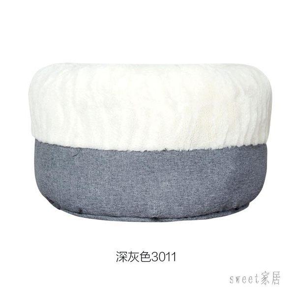 寵物床 深睡貓窩寵物窩全可拆洗四季通用中大型半封閉式冬季保暖加厚貓窩 LN7225 【Sweet家居】