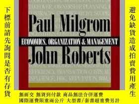 二手書博民逛書店Economics罕見Organization and Mana