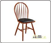 {{ 海中天休閒傢俱廣場 }} 降價優惠 餐椅系列 洛基鐵藝胡桃餐椅(限量2張)