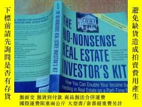 二手書博民逛書店THE罕見NO - NONSENSE REAL ESTATE I