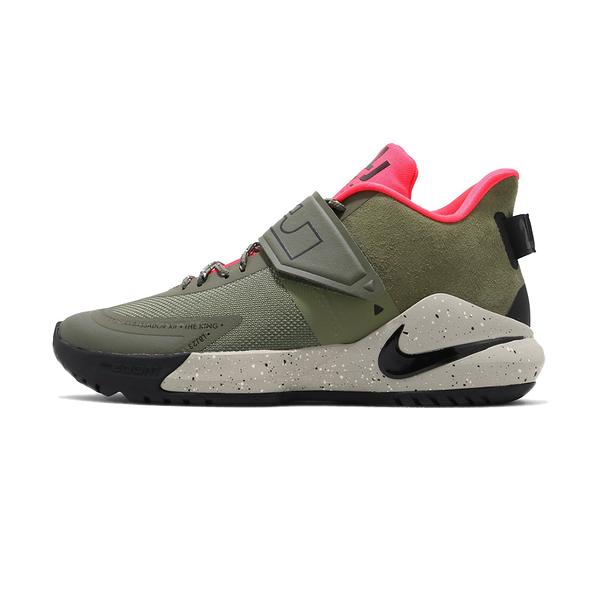 Nike Ambassador XII 男鞋 墨綠 避震 包覆 明星款 LBJ 籃球鞋BQ5436-300
