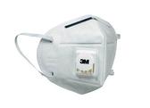3M 9501V PM2.5空污微粒防護口罩-呼氣閥型 3入/包【艾保康】
