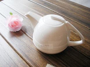 歐式純白 簡約創意咖啡壺