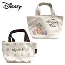 【日本正版】迪士尼 帆布 保冷袋 手提袋 便當袋 保冷提袋 奇奇蒂蒂 小熊維尼 Disney 176924 177006