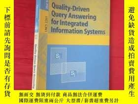 二手書博民逛書店Quality-Driven罕見Query Answering for Integra... 【小16開 】 【詳