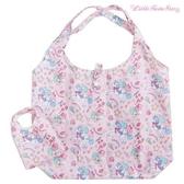 日本限定 三麗鷗 KIKILALA 雙子星 獨角獸可愛繪圖版 折疊收納式 購物袋 / 環保袋 /手提袋 (粉色)