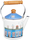 Fuji Horo【日本代購】富士霍羅 珐瑯壺 2L凱特爾美麗房子MM-2.0K