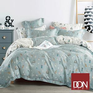 【DON】童年夥伴雙人四件式天絲兩用被床包組