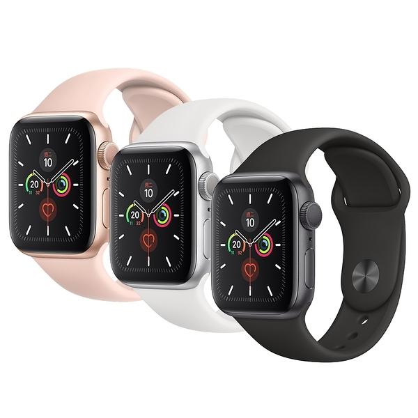 【JS數位】現貨 APPLE Watch S5 GPS 40mm 粉沙色 NIKE 鋁金屬 運動型錶帶