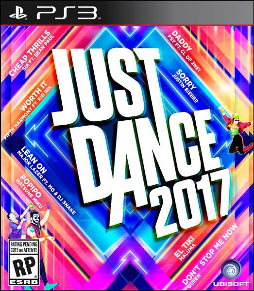 PS3 Just Dance 2017 舞力全開 2017(美版代購)