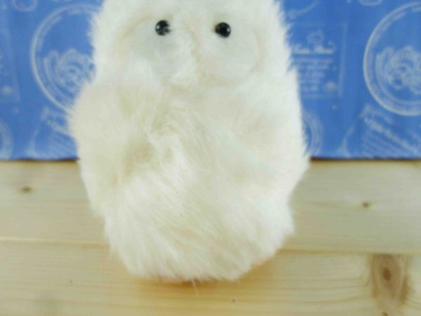 【震撼精品百貨】となりのトトロTotoro_絨毛附繩-小白造型