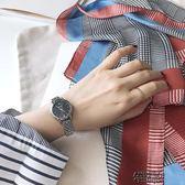 手錶女女士手表時尚新款潮流韓版簡約休閒大氣學生經典金屬淑女女表 街頭布衣