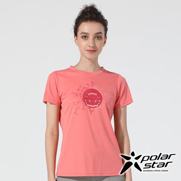 PolarStar女吸排印花圓領上衣