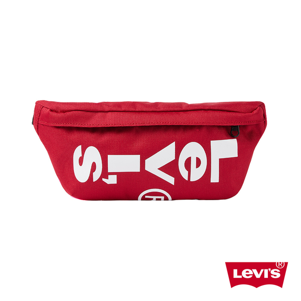 Levis 男女同款 腰包 / 紅色基本款