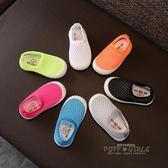 夏季兒童網鞋 1-3-6歲男童運動鞋女童涼鞋寶寶透氣網面鏤空單網鞋    泡芙女孩輕時尚