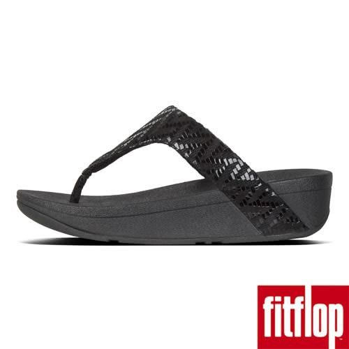 【FitFlop】LOTTIE CHEVRON-SUEDE TOE-THONGS(黑色)舊換新現折$1000