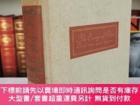 二手書博民逛書店The罕見Essays of Elia with The Last Essays 《伊利亞隨筆》Charles L
