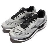 美津濃 Mizuno Synchro MX 慢跑鞋 馬拉松 基本款 灰 黑 男鞋【PUMP306】 J1GE161972