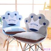 加厚餐桌椅子坐墊靠墊辦公室座椅墊學生教室板凳子屁股座墊子一體