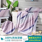 【Betrise貝格】頂級100%奧地利天絲鋪棉涼被枕套三件組