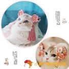 貓咪古風可愛搞怪裝扮頭套寵物飾品小狗狗發飾頭飾【小獅子】