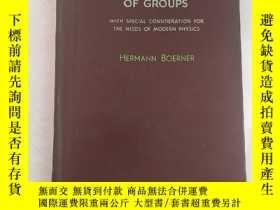 二手書博民逛書店representations罕見of groups(H2956