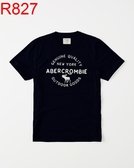AF Abercrombie & Fitch A&F A & F 男 當季最新現貨 T-SHIRT AF R827