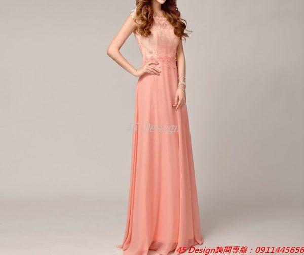 (45 Design)       7天到貨   專業訂製款 中大尺碼純手工婚紗 禮服訂製 / 自助婚紗Wedding