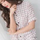 格子印花襯衫 -ONi STORE歐妮豆豆【417205】