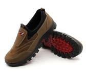 彩帶戶外登山鞋秋冬季防滑徒步鞋爬山運動旅游鞋防水軟底耐磨男鞋