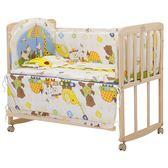 新生兒嬰兒床實木無漆環保寶寶床簡易兒童床多功能搖籃床拼接大床
