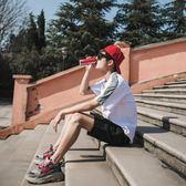 短褲男夏天速干寬鬆中褲子修身五分褲休閒褲運動褲白色沙灘褲潮流 魔方數碼館