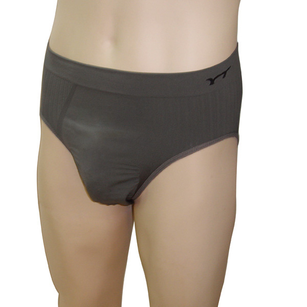 【皇家竹炭】竹炭纖維男用三角一體成型褲(三入組) XL