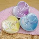 【極品世界】心型典雅魔術毛巾組(毛巾X 3---粉紅色,  淺黃色, 淺藍色)