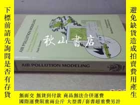 二手書博民逛書店air罕見pollution modeling179846 PA