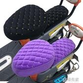 秋冬季電動車座套電動自行車坐墊套電瓶車坐墊加絨加厚電車通用  ATF  極有家