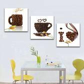 25mm厚 簡約現代飯廳掛畫客廳無框畫咖啡牆畫沙發背景藝術壁畫 igo 黛尼時尚精品