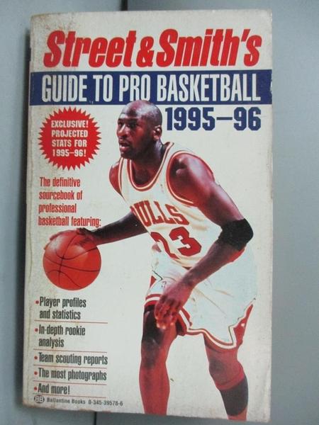【書寶二手書T2/體育_IMM】Street and Smith s Guide to Pro Basketball 1