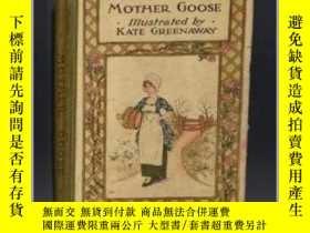 二手書博民逛書店【罕見】Kate Greenaway - Mother Goose Or The Nursery Rhymes ,