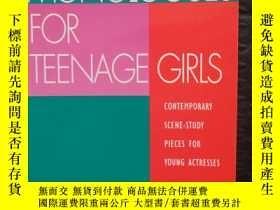 二手書博民逛書店Monologues罕見for Teenage GirlsY13390 Susan Pomerance Dra