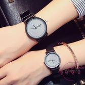 情侶對錶 情侶手錶一對正韓潮流時尚情侶錶 創意防水簡約學生手錶男錶女錶 快速出貨