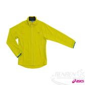 ASICS 亞瑟士 女彈性平織外套(綠)。XXK958-73