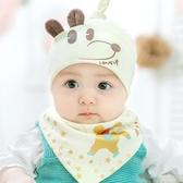 新生兒帽子春夏嬰兒帽子0-3-6-12個月男女寶寶帽子胎帽棉質秋夏季