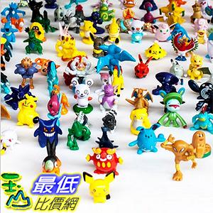 [美國直購] 神奇寶貝 精靈寶可夢周邊 Pokemon Complete Set 144 pcs Pokemon Action Figures (144 Piece) _TA3